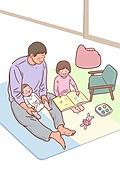 육아, 아기 (인간의나이), 남편, 육아대디 (아빠), 가족, 라이프스타일, 그림책 (책), 장난감, 아빠