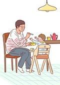 육아, 아기 (인간의나이), 남편, 육아대디 (아빠), 가족, 라이프스타일, 이유식, 아빠