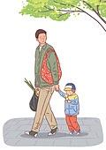 육아, 아기 (인간의나이), 남편, 육아대디 (아빠), 가족, 라이프스타일, 걷기 (물리적활동), 쇼핑 (상업활동), 아빠