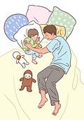 육아, 아기 (인간의나이), 남편, 육아대디 (아빠), 가족, 라이프스타일, 낮잠, 잠, 아빠
