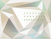 파워포인트, 메인페이지, 초현대적, 삼각형, 도형, 패턴, 미래주의
