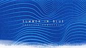 파워포인트, 메인페이지, 물, 바다, 수채화, 여름, 파랑, 물결, 선