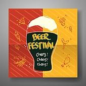 여름, Summer, 차가운음료 (무알콜음료), 상업이벤트 (사건), 팝업, 캘리그래피 (문자), 손글씨, 맥주, 술 (음료), 패턴