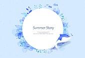 일러스트, 벡터파일 (일러스트), 팝업, 이벤트페이지, 상업이벤트 (사건), 여름, 파랑 (색상)