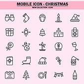 벡터파일 (일러스트), 아이콘, 아이콘세트 (아이콘), 모바일아이콘, 웹아이콘, 픽토그램, 라인아이콘, 단순 (컨셉), 상업이벤트 (사건), 겨울, 크리스마스, 파티, 크리스마스 (국경일)