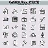 벡터파일 (일러스트), 아이콘, 아이콘세트 (아이콘), 모바일아이콘, 웹아이콘, 픽토그램, 라인아이콘, 단순 (컨셉), 멀티미디어, 자료 (정보매체), 정보매체, SNS, 인터넷, 정보매체 (정보장비), 위성