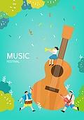 벡터파일 (일러스트), 여름, 음악축제 (엔터테인먼트이벤트), 전통축제 (홀리데이), 상업이벤트 (사건), 음악