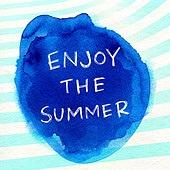 캘리그래피 (문자), 잉크, 번짐, 수채물감, 수채화 (회화기법), 여름, 팝업, 상업이벤트 (사건), 세일 (사건), 휴가, 재질 (물체묘사)