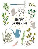 원예 (레크리에이션), 홈가드닝, 원예장비 (장비), 취미, 식물, 원예장갑, 물뿌리개