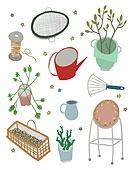 원예 (레크리에이션), 홈가드닝, 원예장비 (장비), 취미, 식물, 화분, 물뿌리개