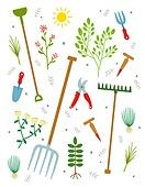 원예 (레크리에이션), 홈가드닝, 원예장비 (장비), 취미, 식물, 삽 (작업도구), 원예가위, 묘목