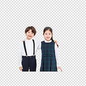 파워포인트 (이미지), PNG, 누끼, 한국인, 어린이 (인간의나이), 초등학생, 두명 (사람의수), 소년 (남성), 소녀 (여성)
