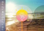 여름, 계절, 날씨, 기온 (교토시), 기후 (묘사), 예측 (컨셉), 폭염, 뜨거움 (컨셉)