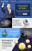 웹템플릿, 메인페이지 (이미지), 홈페이지, 비즈니스, 금융, 은행 (금융빌딩), 비트코인, 가상화폐, 투자, 저축, 화폐