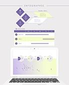 그래프, 디자인엘리먼트, 비즈니스, 인포그래픽, 파워포인트 (이미지), 프로세스, 프리젠테이션 (연설), 보고서
