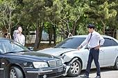 도로, 자동차, 사고, 교통사고, 파괴 (컨셉), 걱정 (어두운표정), 충돌사고, 시비, 고통 (컨셉), 불만