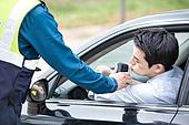 음주측정기 (응급장비), 음주운전 (사회현상), 불기, 경찰, 교통경찰