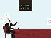 사람 (All People), 비즈니스, 비즈니스맨, 성공, 직업, 설득 (컨셉)