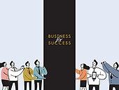 사람 (All People), 비즈니스, 성공, 직업, 팀워크