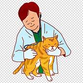 파워포인트 (이미지), PNG, 일러스트, 사람 (All People), 애완동물, 애완동물 (길든동물), 고양이 (고양잇과)