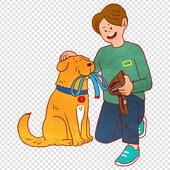 파워포인트 (이미지), PNG, 일러스트, 사람 (All People), 애완동물, 애완동물 (길든동물), 개 (개과), 강아지