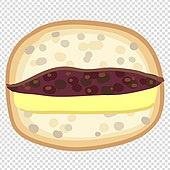 파워포인트 (이미지), PNG, 누끼 (컷아웃), 누끼, 일러스트, 음식, 샌드위치