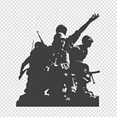 파워포인트 (이미지), PNG, 누끼 (컷아웃), 오브젝트 (묘사), 전쟁, 광복절