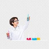 파워포인트 (이미지), PNG, 누끼, 한국인, 어린이 (인간의나이), 소년, 소녀, 과학, 학교과학실험 (과학)