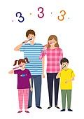 치과, 치아건강, 치아, 건강관리 (주제), 건강한생활 (주제), 보호 (컨셉), 가족, 캠페인, 양치질 (솔질)