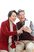 Elderly couples to call the new year