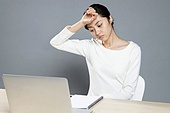Fatigue of female white-collar workers