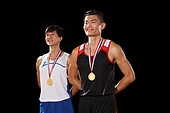 Athletes win medals