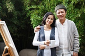 Leisure artist couples