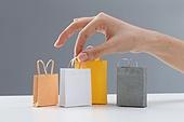 Take shopping bags