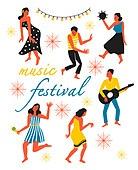 사람, 라이프스타일, 패턴, 춤, 음악축제 (엔터테인먼트이벤트)
