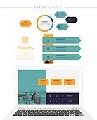 그래프, 디자인엘리먼트, 비즈니스, 인포그래픽, 파워포인트 (이미지), 프리젠테이션 (연설)