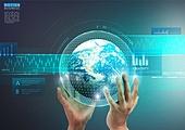 첨단기술 (기술), 비즈니스, 컴퓨터네트워크 (컴퓨터장비), 연결 (컨셉), 터치스크린, 기술, 글로벌