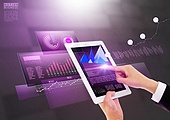 첨단기술 (기술), 비즈니스, 컴퓨터네트워크 (컴퓨터장비), 연결 (컨셉), 터치스크린, 기술