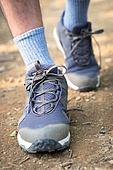 남성, 하이킹 (아웃도어), 산, 혼자여행 (여행), 산책길 (보행로), 걷기, 등산화