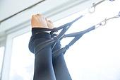 필라테스 (이완운동), 필라테스기계 (운동기구), 캐딜락, 운동, 사람발 (주요신체부분)