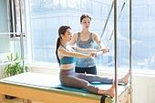 필라테스 (이완운동), 필라테스기계 (운동기구), 다이어트, 코치, 가르치는 (움직이는활동)