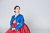 여성, 한복, 한국명절 (한국문화), 응시
