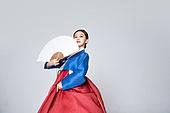 여성, 한복, 한국명절 (한국문화), 부채 (액세서리), 춤