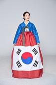 여성, 한복, 한국명절 (한국문화), 태극무늬 (한국전통), 태극기, 광복절