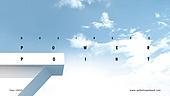 파워포인트, 메인페이지, 건설물, 비즈니스, 풍경, 하늘