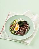 육류, 요리 (음식상태),음식,서양음식,참치스테이크