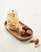 음식, 절임 (보존식),용기,그릇,과일,사과,잼병