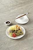 면 (갈린음식), 요리 (음식상태),음식,그릇,젓가락,여름,국수