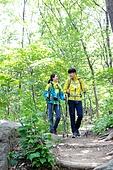 하이킹 (아웃도어), 산악등반 (클라이밍), 등산장비 (스포츠용품), 산, 한국인, 산책길, 풍경 (컨셉)