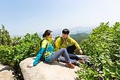 하이킹 (아웃도어), 산악등반 (클라이밍), 등산장비 (스포츠용품), 산, 한국인, 풍경 (컨셉), 휴식
